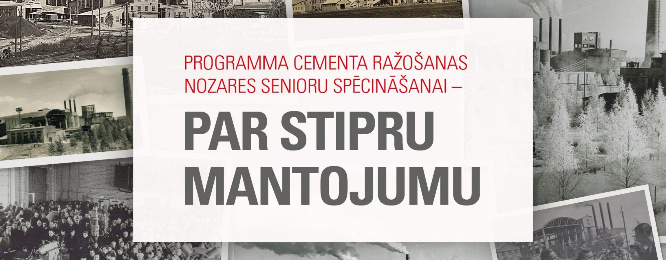 image with text Par stipru mantojumu